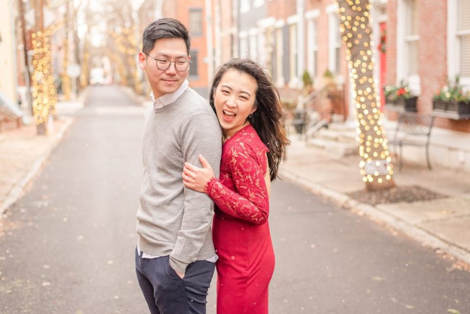 winter engagement photos by Renee Nicolo Photography