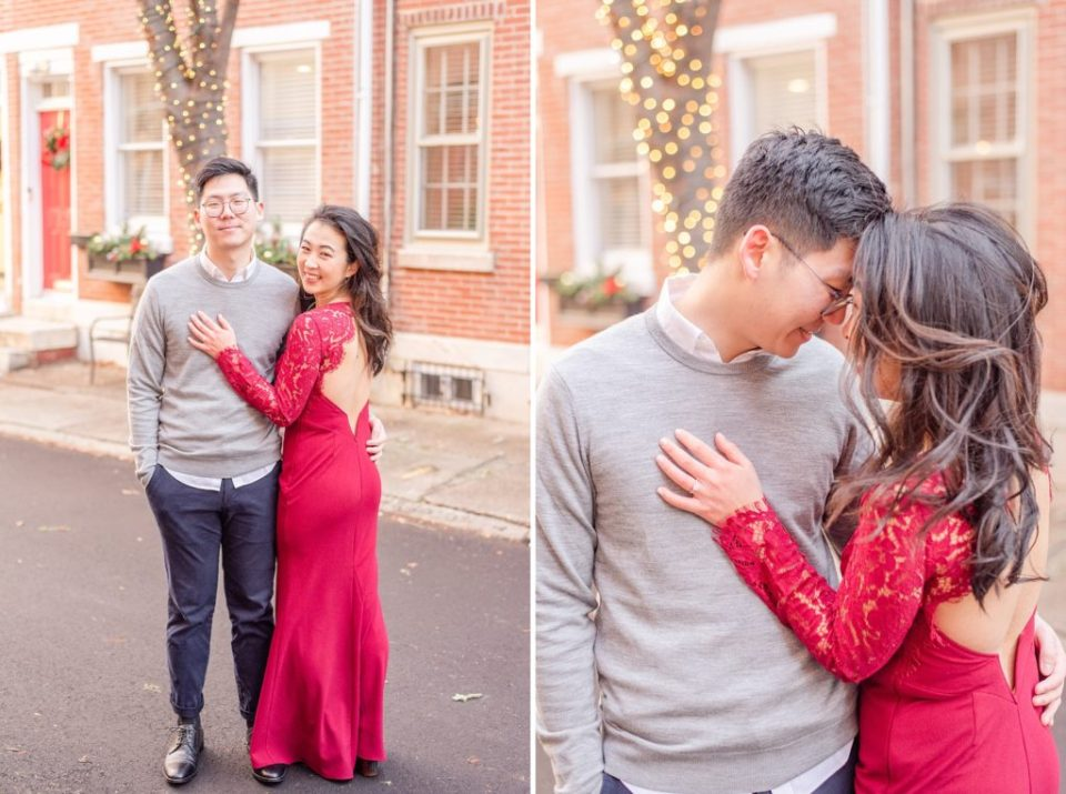 Philadelphia engagement photos in the winter by Renee Nicolo Photography