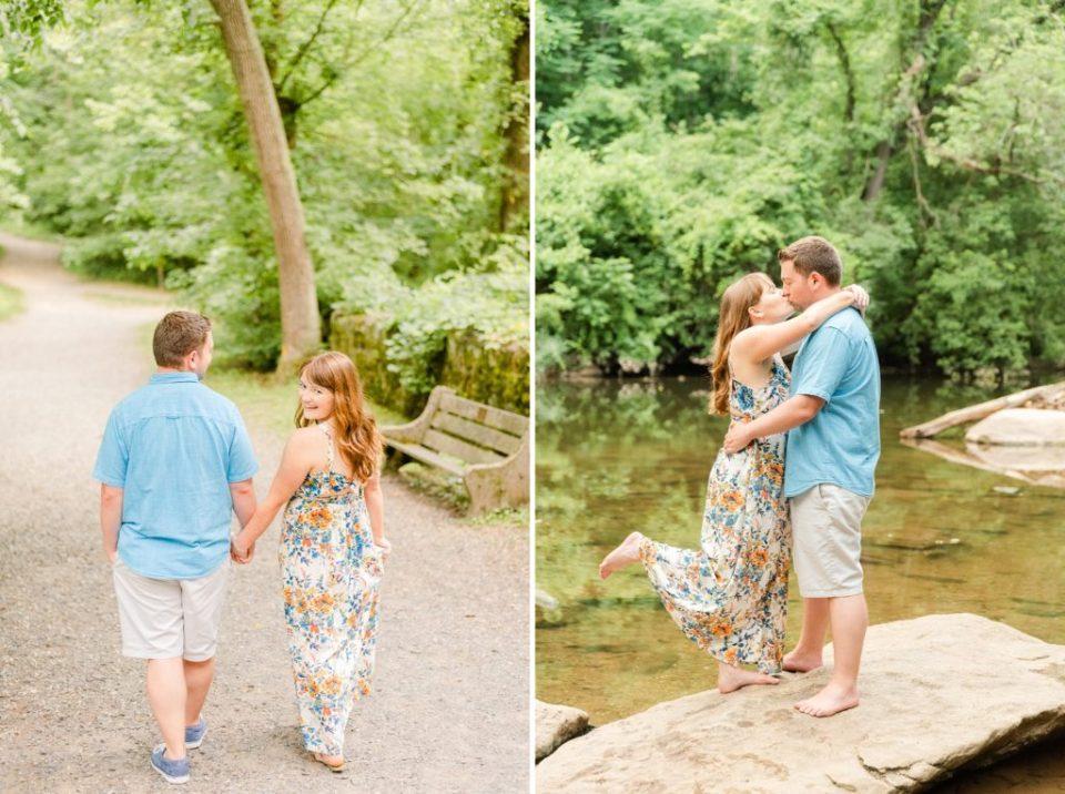Pennsylvania engagement portraits by Renee Nicolo Photography