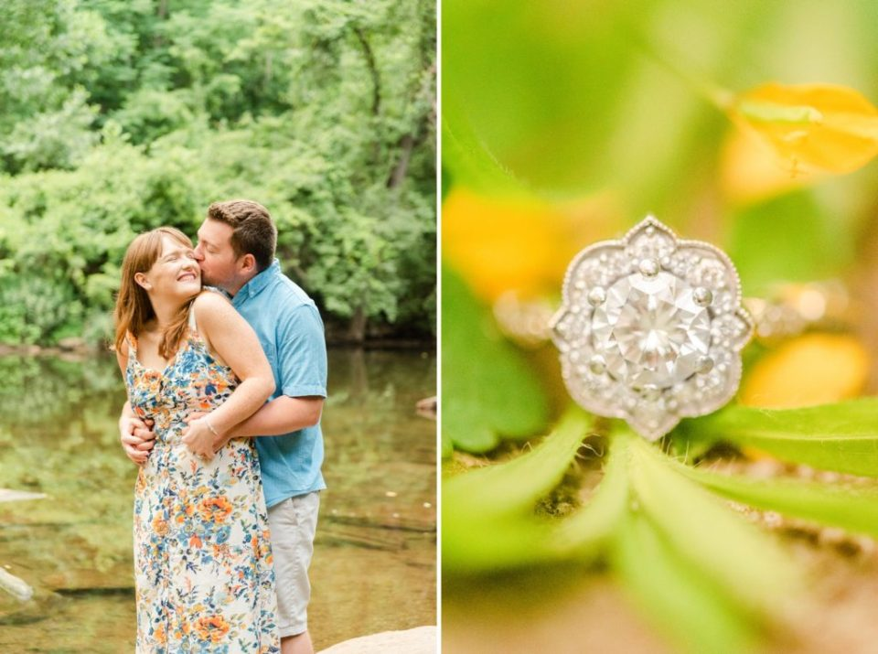 engagement photos by PA wedding photographer Renee Nicolo Photography