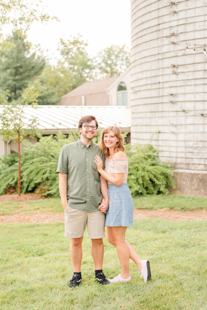 summer PA engagement portraits with Renee Nicolo Photography