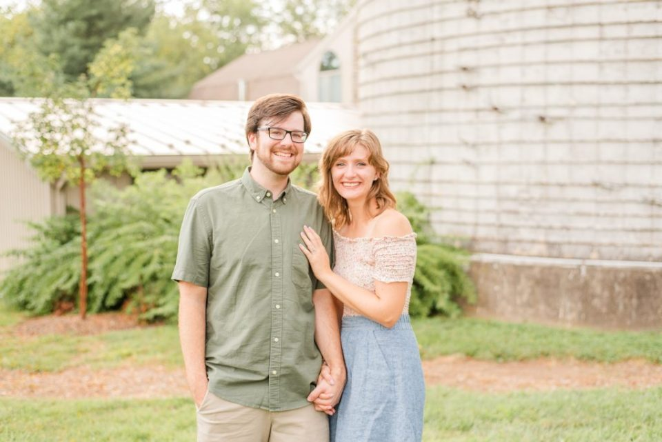 farm engagement session in Pennsylvania