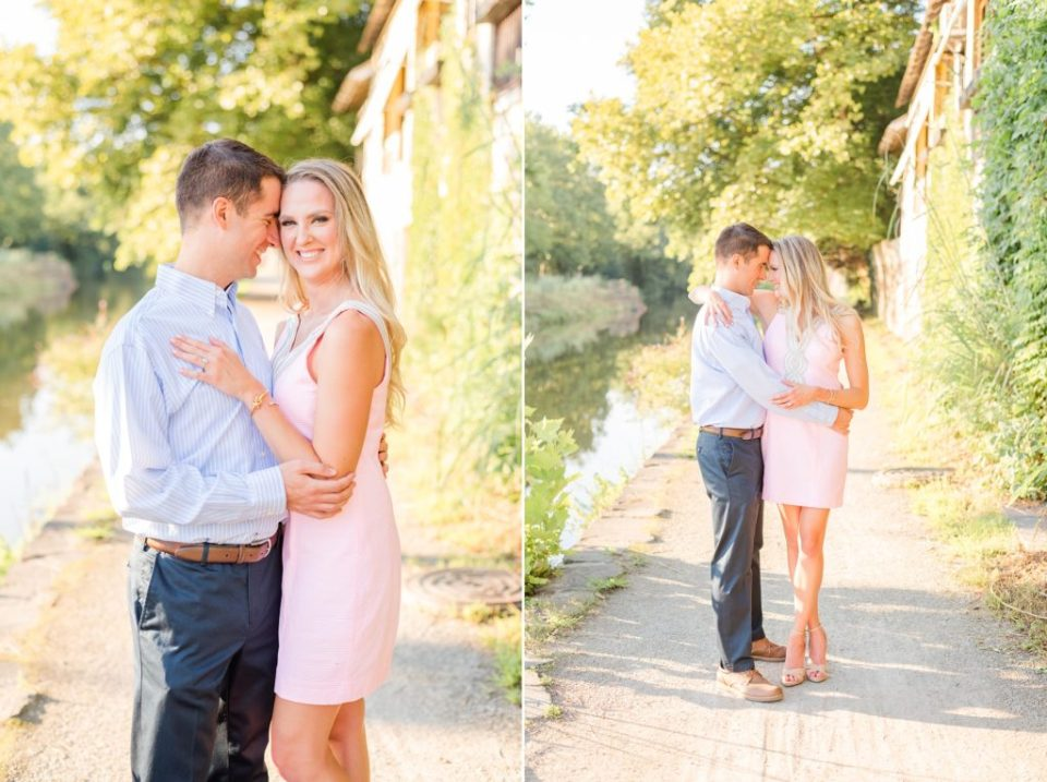 New Hope engagement session in Pennsylvania