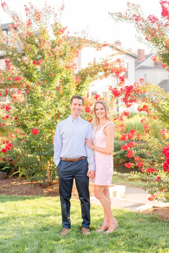 summer New Hope Engagement Session with Renee Nicolo Photography