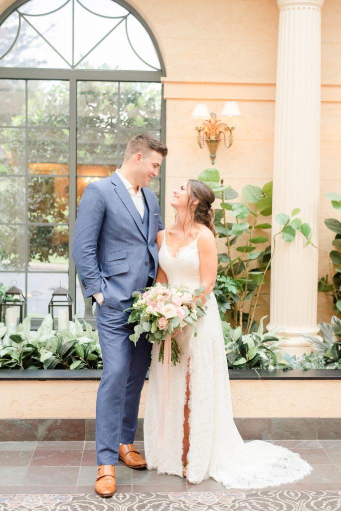 Hotel Desmond Malvern wedding portraits