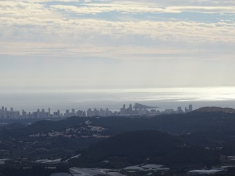 view on Benidorm