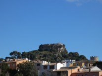 View on the Castle in Begur