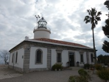 The lighthouse of Sant Sebastià