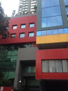 Modern Panamá City buildings