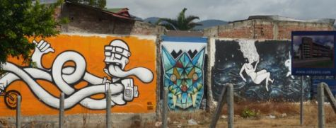 Colorful walls in San José