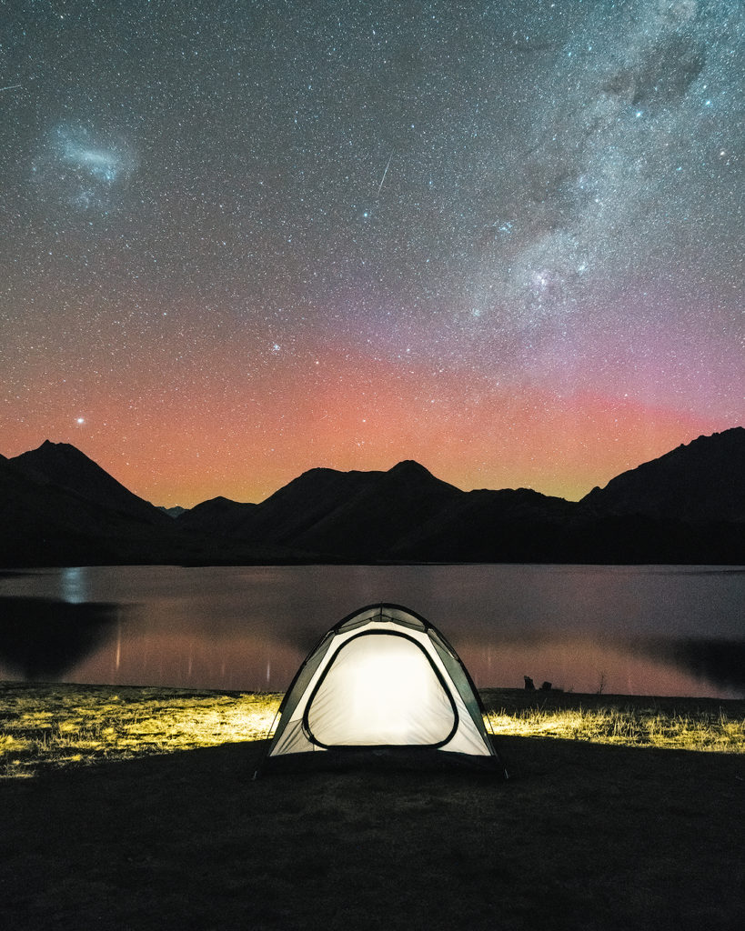 A GUIDE TO CAMPING ON NEW ZEALAND'S SOUTH ISLAND - MOKE LAKE CAMPGROUND