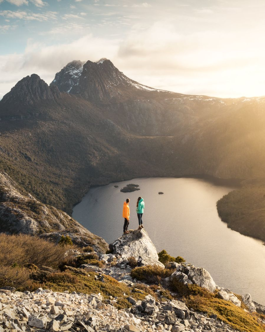 Cradle Mountain Mt Campbell - Renee Roamin