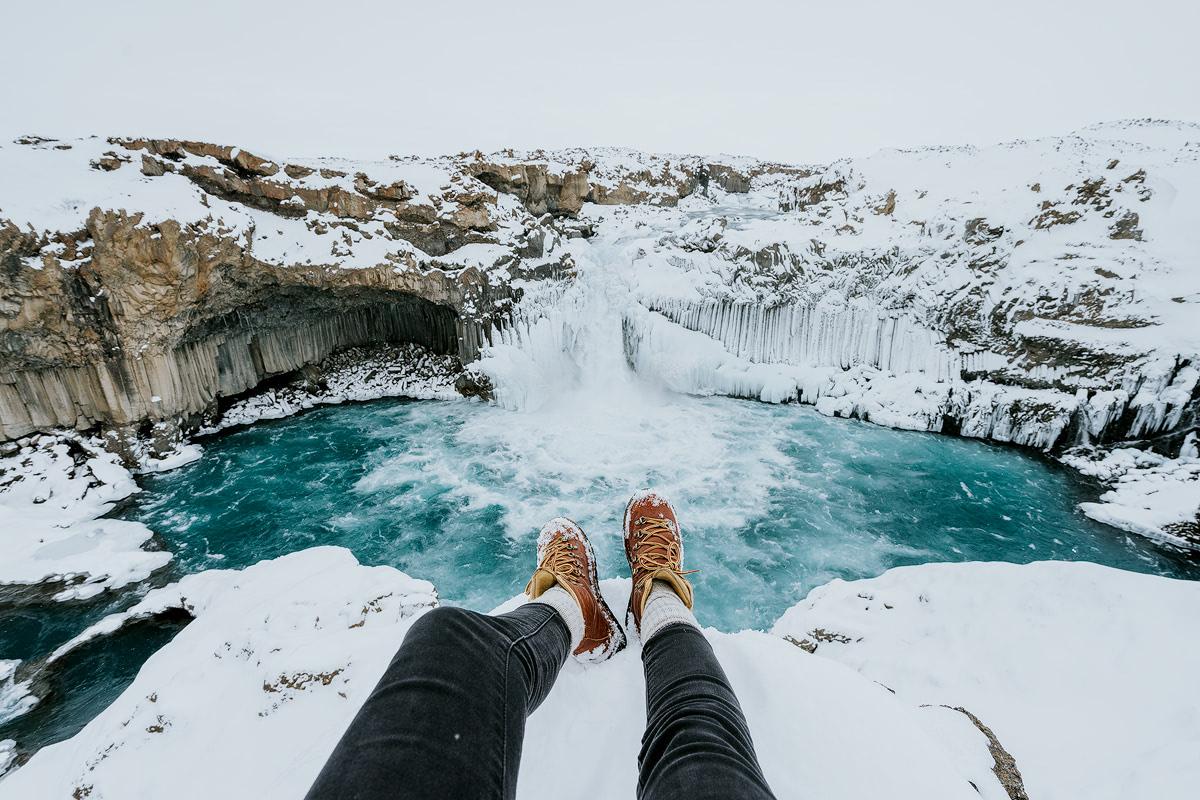 Iceland, Aldeyjarfoss - Renee Roaming