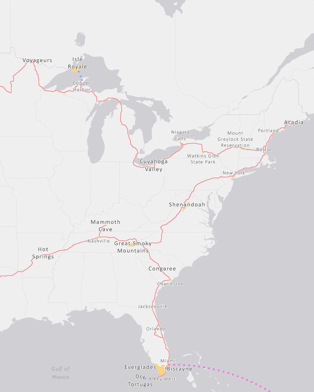 National-Park-Road-Trip-East-Coast-Route-Renee-Roaming