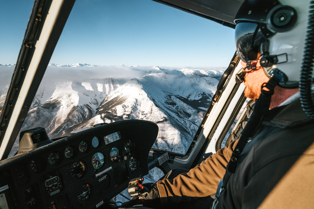 9 Best Winter Adventures in Banff Canadia - Helicopter Renee Roaming
