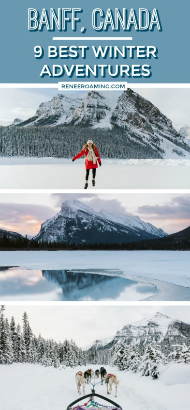 9 Best Winter Adventures in Banff Canada