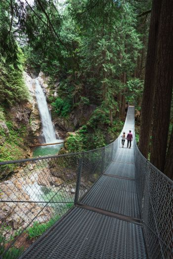 Couples Adventure Getaway to British Columbia Cascade Falls 2