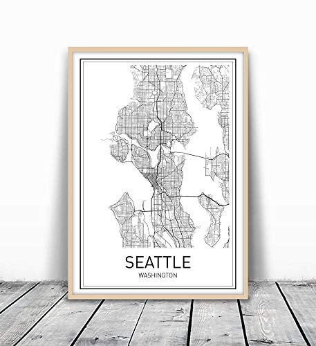 20 Thoughtful Gift Ideas for Travel Lovers Seattle Map