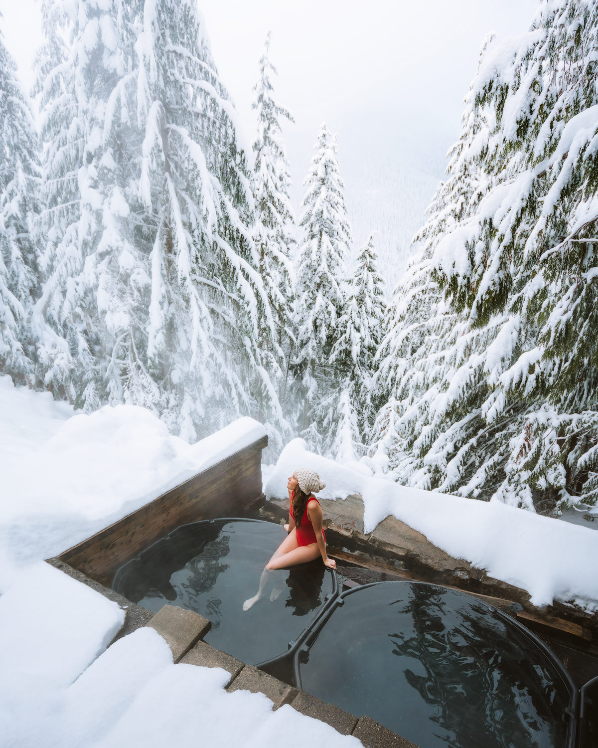 7 Magical Winter Outdoor Adventures For The Holidays Backcountry Renee Roaming Hot Spring
