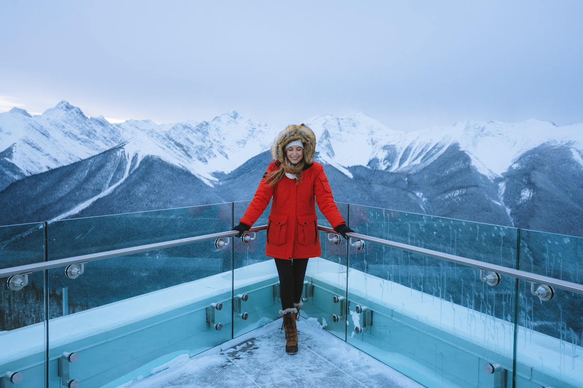 Planning a Trip to Banff in Winter -Banff Gondola -Renee Roaming