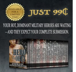 ★Hero to Obey ★ Just $.99 for a limited time #Hot #Military #Romance #Hero2Obey