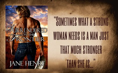 Surrendered on the Frontier by Jane Henry
