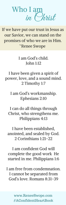 photo about Who I Am in Christ Printable named Anytime Yourself Truly feel Which includes Your self Cant Evaluate Up Renee Swope Renee