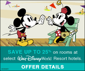 Soak up the Sun (25% OFF rooms) – Walt Disney World