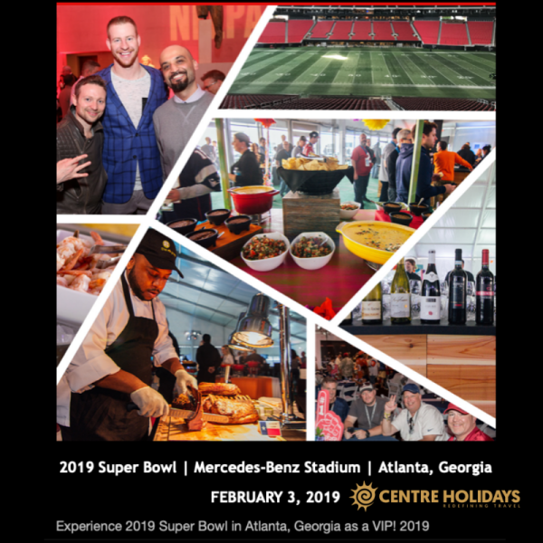 Visit the Super Bowl 2019 in Atlanta with this VIP Experience!