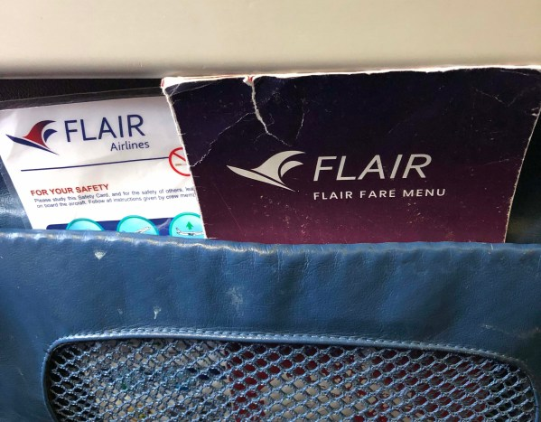Flying with Flair – a no frills flying experience