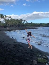 Black Sand Beach Renee Tsang Travel