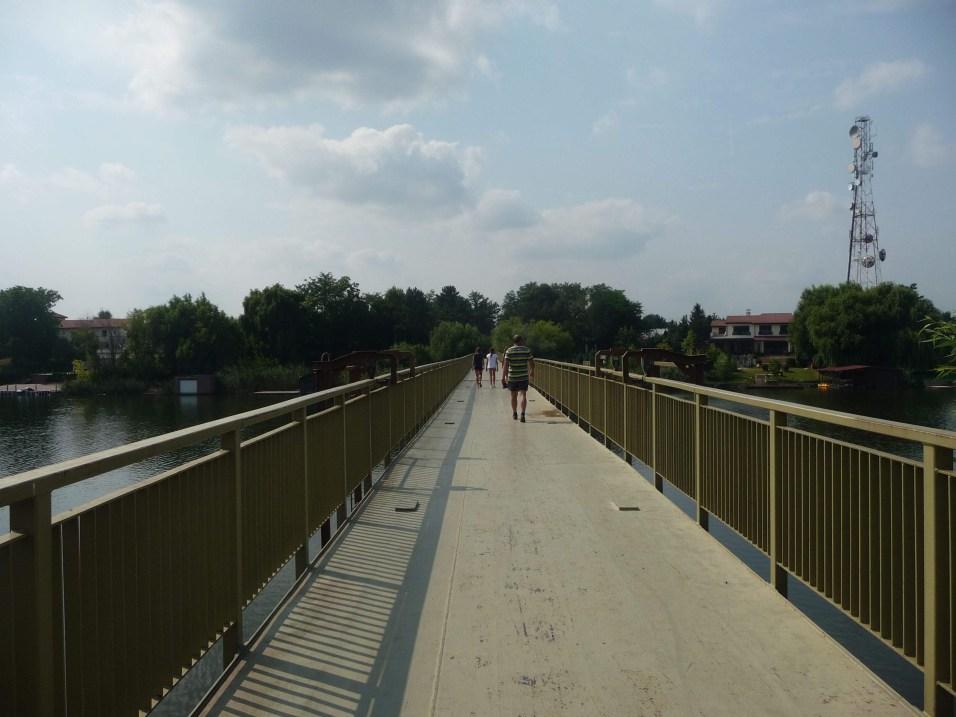 Bridge leading to the monastery