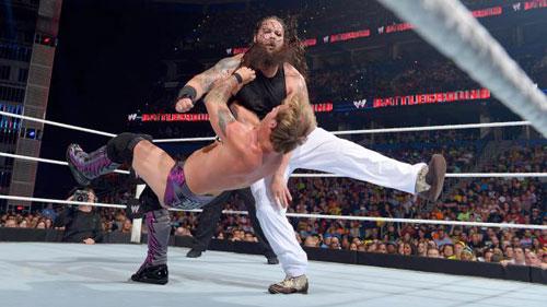 Image result for Battleground 2014 Bray Wyatt w/Family vs Chris Jericho
