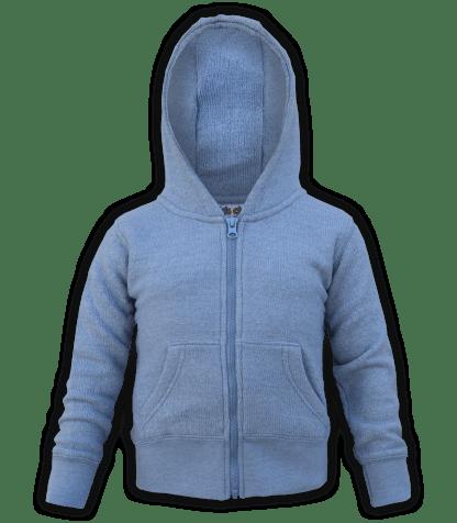 renegade-club-kids-jacket-nantucket-fleece-infant-toddler-fleece jacket, full zip, indigo, blue