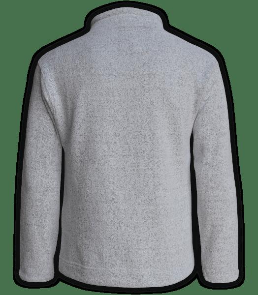 Renegade Club Unisex Fleece Pullover, womens sweatshirt, mens sweatshirt, nantucket soft fleece, salt and pepper, white, gray back