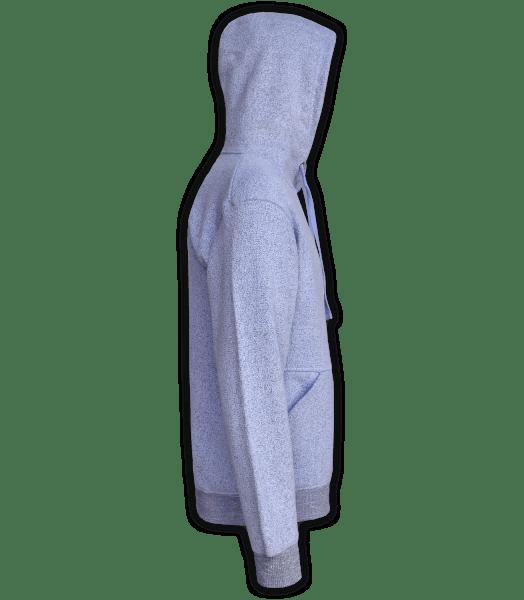 Renegade Club Unisex Pullover, adult fleece pullover hoodie, womens fleece, mens fleece, nantucket soft fleece, lavender, purple, violet, side
