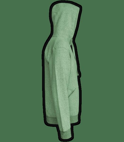 Renegade Club Unisex Pullover, adult fleece pullover hoodie, womens fleece, mens fleece, nantucket soft fleece, lime, green, side
