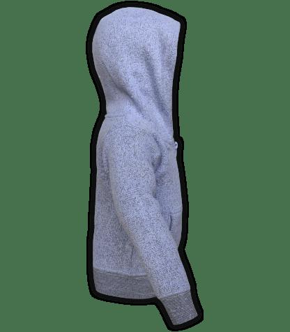 renegade-club-kids-jacket-nantucket-fleece-infant-toddler-fleece jacket, full zip, purple, lavender, side