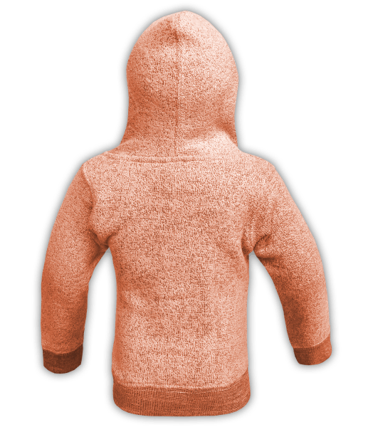 renegade-club-kids-jacket-nantucket-fleece-infant-toddler-fleece jacket, full zip, orange, pink, salmon, black