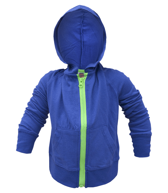 8fefcb25d Infant Contrast Full Zip Hooded Sweatshirt – Renegade Club