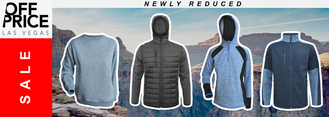 reduced sale jackets for embroidery off price show