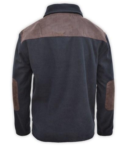 back imitation suede mens corded corduroy fleece sweatshirt blanks for embroidery