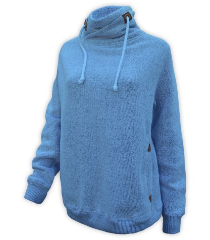 blue renegade nantucket fleece collar sweatshirt, wholesale blanks for embroidery