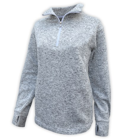 renegade club north shore quarter zip, half sip blanks for embroidery gray collar