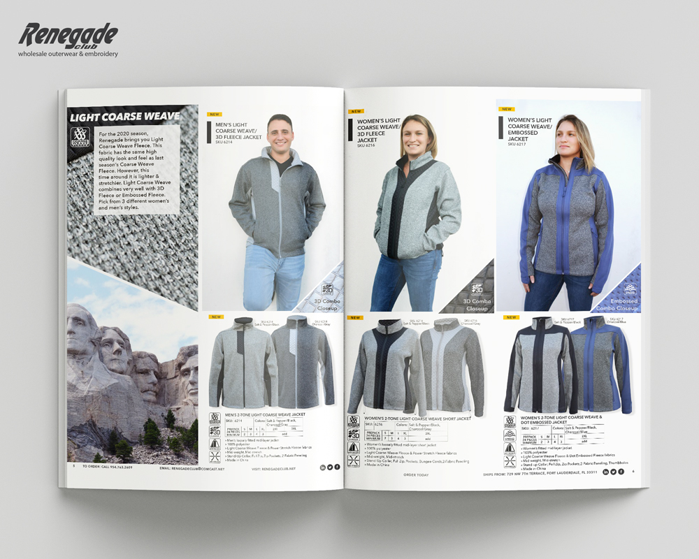 2020 renegade catalog mockup pages mens womens sweatshirts new styles