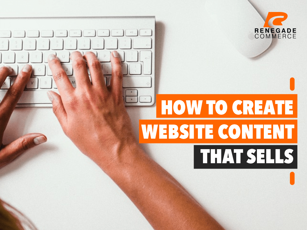 How to Create Website Content that Sells