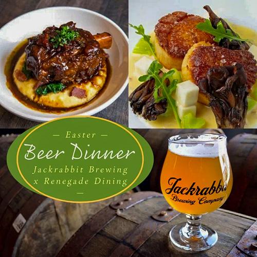 Easter Beer Dinner 2021 - Jackrabbit Brewing