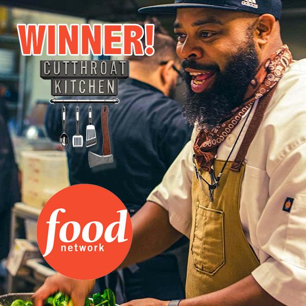 Dennis Sydnor - Winner on Food Network's Cutthroat Kitchen