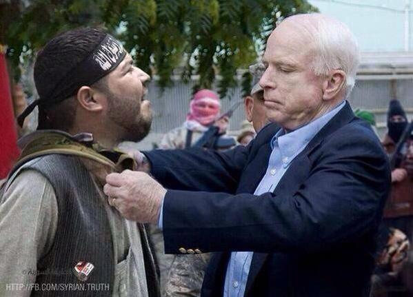 Image result for JOHN MCCAIN AND ISIS