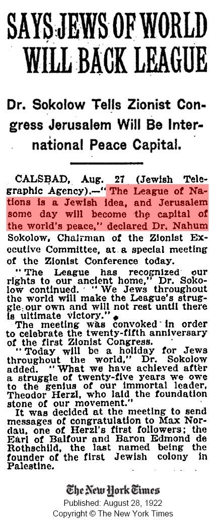 League-Of-Nations-Sokolow-Zionist-Congress